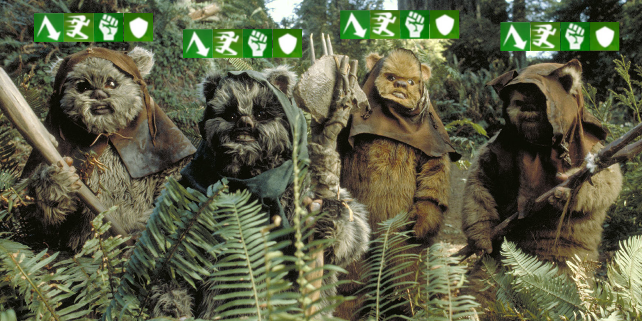 Best Mods for Ewoks in Star Wars Galaxy of Heroes